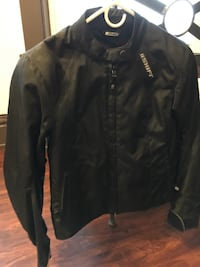 Black shift riding jacket with removable inner vest for riding in hot weather Dravosburg, 15034