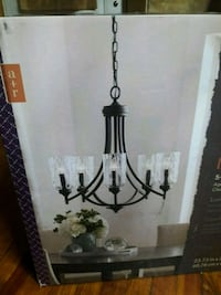 Brand new 5 light chandelier in the box