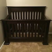Solid pine wood crib with mattress  Fountain Valley, 92708