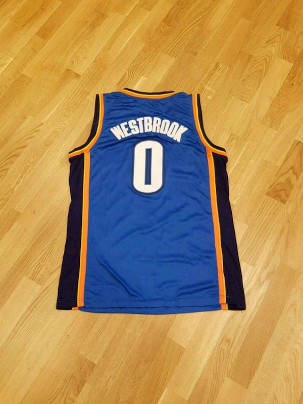 size 40 9505a 62ca6 NBA Oklahoma City Thunder Russell Westbrook Jersey