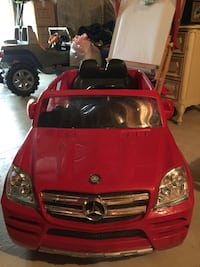 Rollplay Kids Ride On 6v Mercedes Benz Gl450 Suv Red