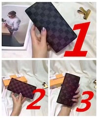 Louis Vuitton long wallet 6548 km