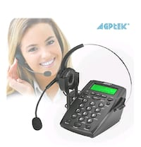 Call Center Dial Pad Headset Telephone (AGPtek)   Montreal, H8R 2T1