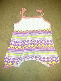 white, pink, and green tank top Amarillo, 79107