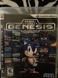 Sony ps3 sonic's ultimate genesis collection game case Alexandria, 22306