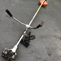 Stihl weed Trimmer heavy duty commercial tool works great