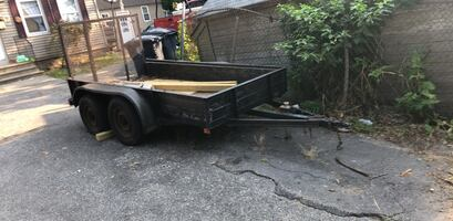 For sale heavy duty trailer feel free to call anytime  [TL_HIDDEN]