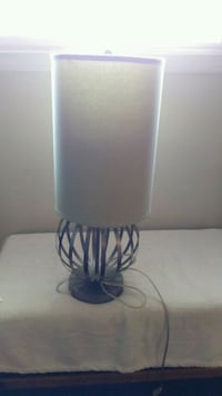 white and green table lamp Halifax, B3J 1S5
