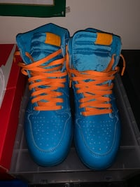 pair of blue Nike high-top sneakers Rockville, 20850