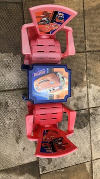 Disney cars table and chairs Guelph