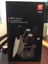 Zwilling Twin Four Star 2 knife block set Ottawa, K2M 2P3