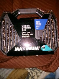 Still in box, 100 pc Cobalt drill bit set Calgary, T2E 3L2