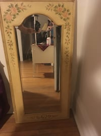 "BEAUTIFUL MIRROR ready to hang 22""x44"""