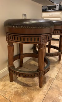 Leather stools - 3 total North Potomac, 20878