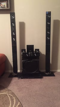 black and gray home theater system Las Vegas, 89103