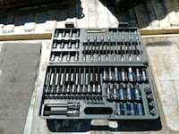 gray socket wrench set with case Alpharetta, 30009