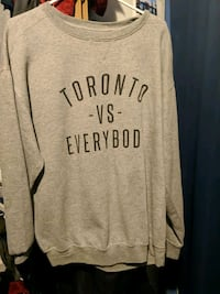 Toronto vs Everybody grey crew neck Toronto, M1C 2B2