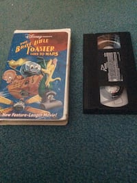 The brave little toaster goes to mars vhs tape 276 mi