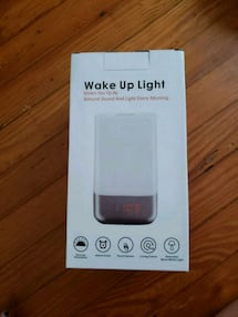 Wake-Up Alarm Lamp (brand new)