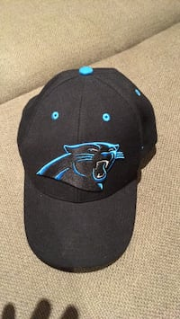Black and blue Panthers cap 790 km