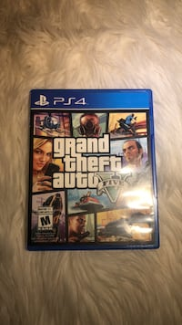 Grand theft Auto (PS4 Video Game) Langley, V2Y 1P3
