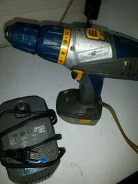black and blue Bosch cordless drill Spruce Grove, T7X 3H7