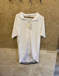 New! White zipper sharewin shirt (xl)
