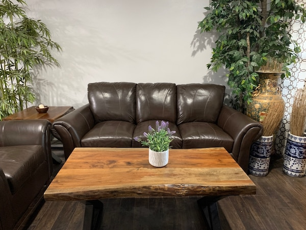 Real Leather Sofas For In