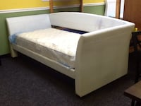 White Day Bed Frame Only