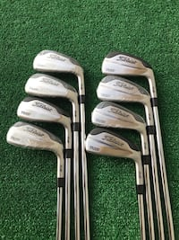 Titleist 718 T-MB 8 Iron Golf Set, 3 thru PW, Stiff (S300) Flex
