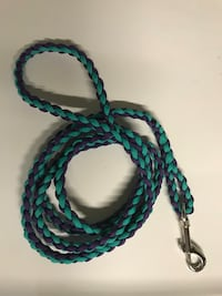 Paracord dog leash. Made to order.