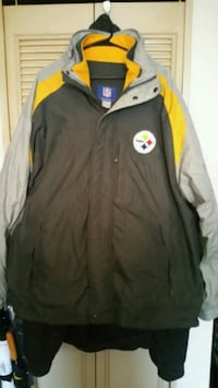 Pittsburgh Steelers 2-in-1 coat with removable fle Pittsburgh, 15222