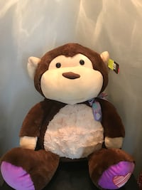 Large plush monkey NEW  Metairie, 70003