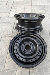 """2 Brand New 15"""" Steel Rims For Sale London"""