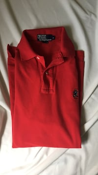 Red polo shirt Mississauga, L5G