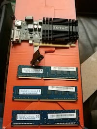 2gb video card and 16gb of ddr3 sd Ram Calgary, T2T 0M8