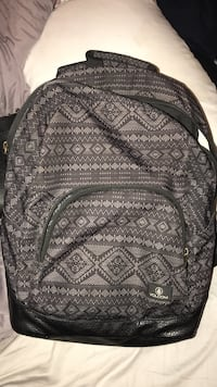 brown and beige tribal Volcom backpack Gulf Breeze, 32563