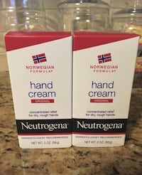Set of 2 neutrogena hand cream.concentrated relief for dry rough hands.2oz.all for $6 Orange Park, 32065