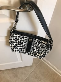 black and white leopard print leather crossbody bag Woodbridge, 22193