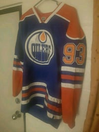 blue and yellow Adidas jersey Edmonton, T5B 1S3