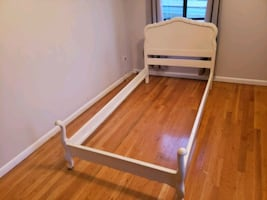 Twin Size Bed Wood Frame