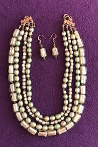 Local Artisan Necklace & Earring set Fairfax, 22030