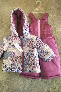 New with tags! 2 pc Snow Suit 3-6 Mo Oakville, L6H 5Y8