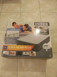 Intex Inflatable Bed (Automatic Air Bed) - unused Athina