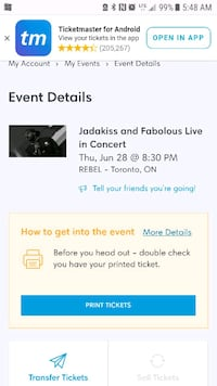 Jadakiss and fabolous tickets Brampton, L6S 3E7