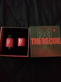 red The Recoil atomizer