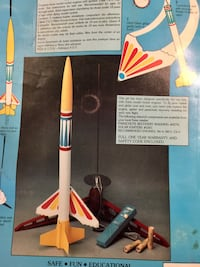It's a blast! Estes model rocket engine. Instructions with solar igniter Safe, Fun, & Educational  Discovery beginner level 1...age 10- adult Includes rocket engine, recovery parachute, hitch-   hiker glider, electron beam, & launch pad Flights over 1,000 null, L3B