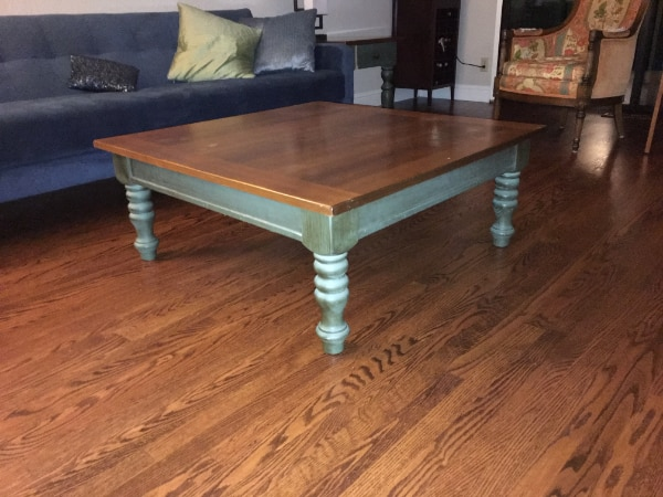 Square Coffee Table And Matching End Tables