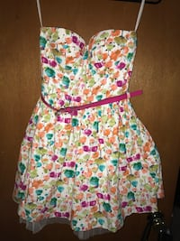 pink and green floral mini dress South Toms River, 08722