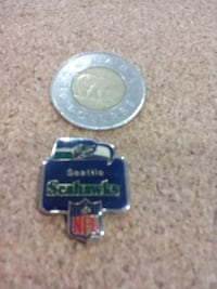 """Collector's NFL pin """"Seattle Seahawks"""" Penticton, V2A 2Y8"""